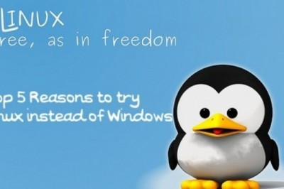 Top 5 Reasons to try Linux instead of Windows