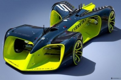 Roborace Idea of ​Racing Robot That Can Compete in Formula E