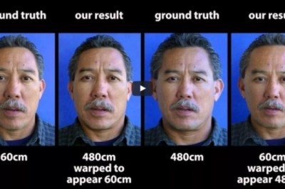 A website to improve our faces in a single portrait photo