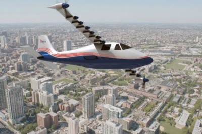 NASA presents Maxwell, its first aircraft powered only by electricity