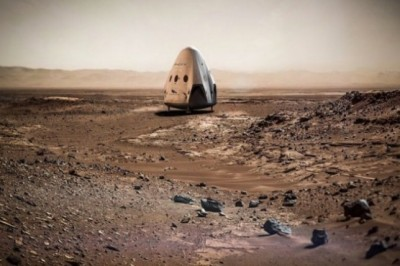 SpaceX plans to land a Dragon 2 capsule on Mars in 2018