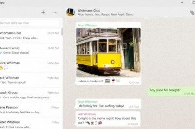 WhatsApp now has application for Windows and Mac