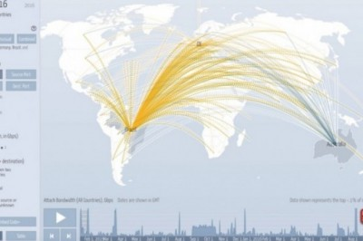 Digital Attack Map, a map to see real-time DDoS attacks worldwide
