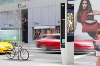 New York begins to replace the telephone booths with WiFi stations